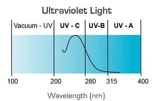 Ultraviolet Light Chart